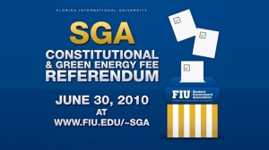 Vote online at www.fiu.edu/~sga